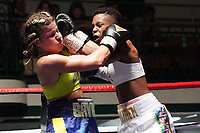 Cherrelle Brown vs Kirstie Bavington - York Hall 20-07-19 -