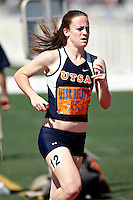 SAN ANTONIO, TX - MARCH 15, 2008: UTSA Relays Track & Field Meet - Day 2 at Jerry Comalander Stadium. (Photo by Jeff Huehn)