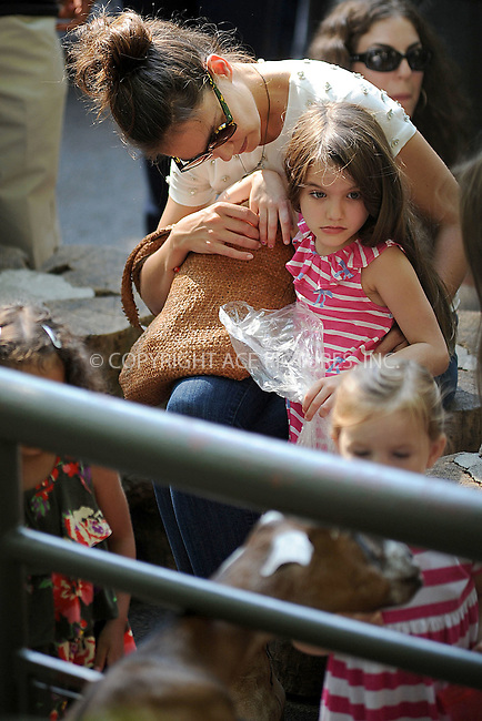 WWW.ACEPIXS.COM . . . . . .July 11, 2012...New York City....Katie Holmes and Suri Cruise visit the Central Park Zoo on July 11, 2012 in New York City ....Please byline: KRISTIN CALLAHAN - ACEPIXS.COM.. . . . . . ..Ace Pictures, Inc: ..tel: (212) 243 8787 or (646) 769 0430..e-mail: info@acepixs.com..web: http://www.acepixs.com .