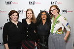 Sheri Wilner, Deborah Yarchun, Riti Sachdeva and Laura Brandel attend the reception for the 2018 Presentation of New Works by the DGF Fellows on October 15, 2018 at the Playwrights Horizons Theatre in New York City.