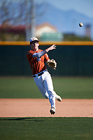 Booga de la Garza during the Under Armour All-America Tournament powered by Baseball Factory on January 19, 2020 at Sloan Park in Mesa, Arizona.  (Zachary Lucy/Four Seam Images)