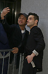 Rami Malek attends 'The Play That Goes Wrong' Broadway Opening Night at the Lyceum Theatre on April 2, 2017 in New York City.