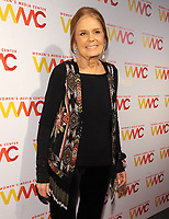 NEW YORK, NY - NOVEMBER 01: Gloria Steinem attends the 2018 Women's Media Awards at Capitale on November 1, 2018 in New York City.a attends the 2018 Women's Media Awards at Capitale on November 1, 2018 in New York City.  <br /> CAP/MPI/JP<br /> &copy;JP/MPI/Capital Pictures