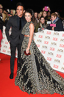 Gareth Gates &amp; Faye Brookes at the National TV Awards 2017 held at the O2 Arena, Greenwich, London. <br /> 25th January  2017<br /> Picture: Steve Vas/Featureflash/SilverHub 0208 004 5359 sales@silverhubmedia.com