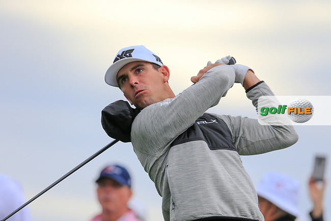 Billy Horschel (USA) during the preview round of the Waste Management Phoenix Open, TPC Scottsdale, Scottsdale, Arisona, USA. 30/01/2019.<br /> Picture Fran Caffrey / Golffile.ie<br /> <br /> All photo usage must carry mandatory copyright credit (© Golffile | Fran Caffrey)