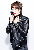 Jun 16, 2019: HALESTORM - Photosession with Lzzy Hale at 2019 Download Festival