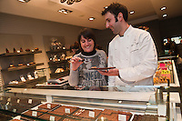 Europe/France/Aquitaine/64/Pyrénées-Atlantiques/Béarn/Pau:  Marlène et Xavier Berger, Xavier Berger Chocolatier [Non destiné à un usage publicitaire - Not intended for an advertising use]