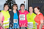 Participating at the Feet first road race in Killarney on Friday night was l-r: Annette Courtney Faha, Eileen Sweeney Fossa, Lisa Corkery Killorglin, Eileen O'Leary Killarney, Christine O'Brien Milltown and Jackie Murphy Milltown....