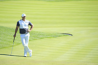 Brooks Koepka (USA) in action during the third round of the Northern Trust, played at Liberty National Golf Club, Jersey City, New Jersey, USA 10/08/2019<br /> Picture: Golffile | Michael Cohen<br /> <br /> All photo usage must carry mandatory copyright credit (© Golffile | Phil Inglis)
