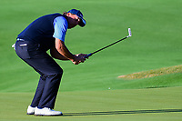 Phil Mickelson (USA) reacts to barely missng his putt on 5  during round 4 of the World Golf Championships, Dell Technologies Match Play, Austin Country Club, Austin, Texas, USA. 3/25/2017.<br /> Picture: Golffile | Ken Murray<br /> <br /> <br /> All photo usage must carry mandatory copyright credit (&copy; Golffile | Ken Murray)