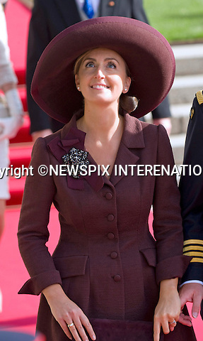 "PRINCESS CLAIRE OF BELGIUM.Religious Wedding Ceremony of HRH the Hereditary Grand Duke and Countess Stéphanie de Lannoy at Cathedral of Our lady of Luxembourg, Luxembourg_20-10-2012.Mandatory credit photo: ©Dias/NEWSPIX INTERNATIONAL..(Failure to credit will incur a surcharge of 100% of reproduction fees)..                **ALL FEES PAYABLE TO: ""NEWSPIX INTERNATIONAL""**..IMMEDIATE CONFIRMATION OF USAGE REQUIRED:.Newspix International, 31 Chinnery Hill, Bishop's Stortford, ENGLAND CM23 3PS.Tel:+441279 324672  ; Fax: +441279656877.Mobile:  07775681153.e-mail: info@newspixinternational.co.uk"
