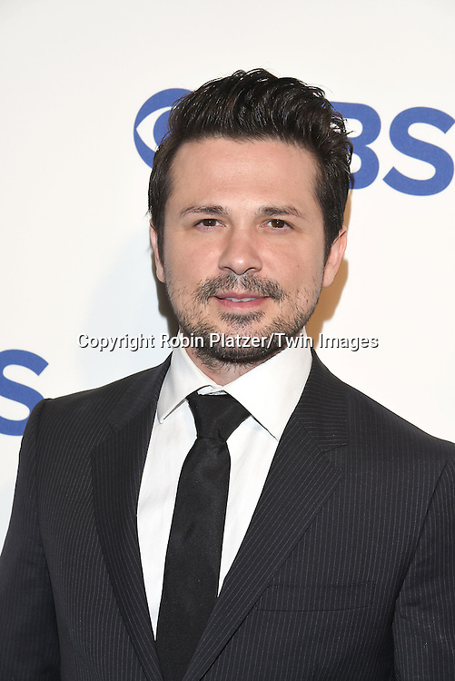 Freddy Rodriguez attends the CBS Upfront 2016-2017 on May 18, 2016 at the Oak Room at the Plaza Hotel in New Yorik, New York, USA.<br /> <br /> photo by Robin Platzer/Twin Images<br />  <br /> phone number 212-935-0770