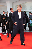 Takeshi Kitano arrives at the Award Ceremony of the 74th Venice Film Festival at Sala Grande on September 9, 2017 in Venice, Italy. <br /> CAP/GOL<br /> &copy;GOL/Capital Pictures