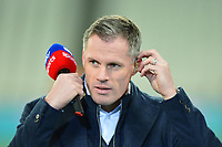 Sky Pundit Jamie Carragher during West Ham United vs Fulham, Premier League Football at The London Stadium on 22nd February 2019
