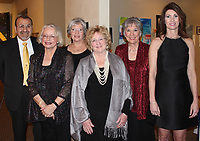 NWA Democrat-Gazette/CARIN SCHOPPMEYER Andrew and Dorothy Cardiel (from left), Jeanie Burks, Marsha Jones, Ruth Shafer and Robin Primm attend the ACO benefit.