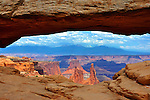 Mesa Arch Canyonlands National Park Moab Utah Overlook
