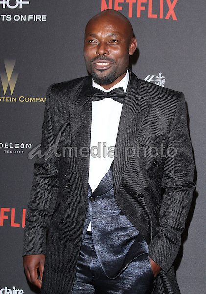 10 January 2016 - Los Angeles, California - Jimmy Jean-Louis. 2016 Weinstein Company & Netflix Golden Gloves After Party held at the Beverly Hilton Hotel. Photo Credit: AdMedia