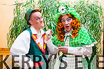 Cast members Jack Patrick Healy (Jack), Declan Mangan (The Dame) in rehearsals for Killorglin Pantomime Group's production of Jack and the Beanstalk at the C.Y.M.S from the 24th of January