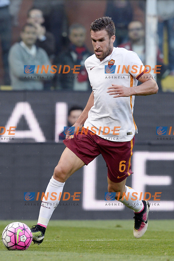 Kevin Strootman Roma <br /> Genova 02-05-2016 Football Calcio Serie A 2015/2016  Genoa - AS Roma foto Image Sport/Insidefoto