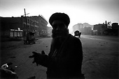 Kabul, Afghanistan<br /> November 19, 2001<br /> <br /> Dusk falls on a city street.