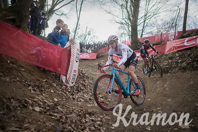 Katie Kompton (USA)<br /> <br /> women's race<br /> CX Soudal Classics Leuven/Belgium 2017