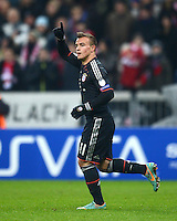 FUSSBALL   CHAMPIONS LEAGUE   SAISON 2012/2013   GRUPPENPHASE   FC Bayern Muenchen - FC Bate Borisov              05.12.2012 Jubel nach dem Tor zum 3:0 Xherdan Shaqiri (FC Bayern Muenchen)