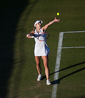 ALIZE CORNET (FRA)<br /> <br /> TENNIS - THE CHAMPIONSHIPS - WIMBLEDON 2015 -  LONDON - ENGLAND - UNITED KINGDOM - ATP, WTA, ITF <br /> <br /> &copy; AMN IMAGES