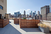 Roof Deck at 435 East 65th Street