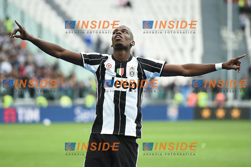 Paul Pogba<br /> Torino 14-05-2016 Stadio Olimpico Football Calcio Serie A 2015/2016 Juventus-Sampdoria. Foto Matteo Gribaudi / Image Sport / Insidefoto