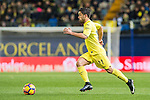 Jaume Vicent Costa Jordá of Villarreal CF in action during their La Liga match between Villarreal CF and Valencia CF at the Estadio de la Cerámica on 21 January 2017 in Villarreal, Spain. Photo by Maria Jose Segovia Carmona / Power Sport Images