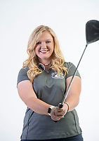 NWA Democrat-Gazette/BEN GOFF @NWABENGOFF<br /> Sydnie Gamble of Greenwood, Golf Girls Player of the Year, poses for a photo Wednesday, Nov. 29, 2017 at the NWA Democrat-Gazette office in Springdale.