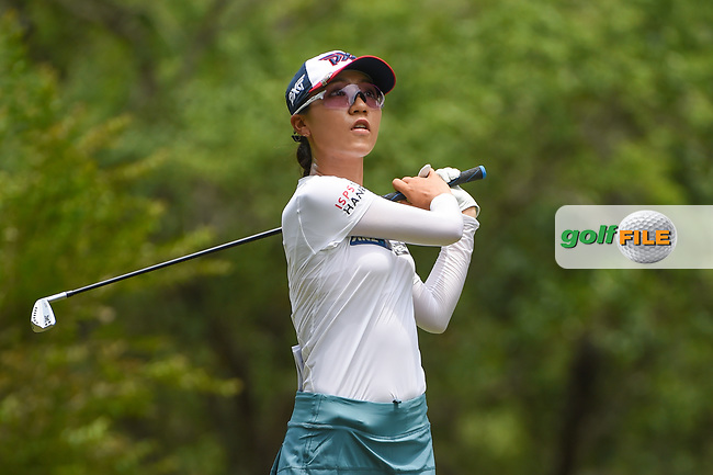 Lydia Ko (NZL) watches her tee shot on 11 during round 2 of the 2019 US Women's Open, Charleston Country Club, Charleston, South Carolina,  USA. 5/31/2019.<br /> Picture: Golffile | Ken Murray<br /> <br /> All photo usage must carry mandatory copyright credit (© Golffile | Ken Murray)