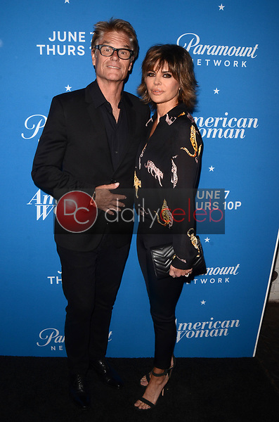 "Harry Hamlin, Lisa Rinna<br /> at the ""American Woman"" Premiere Party, Chateau Marmont, Los Angeles, CA 05-31-18<br /> David Edwards/DailyCeleb.com 818-249-4998"
