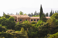 The family home. Domaine du Mas de Daumas Gassac. in Aniane. Languedoc. The building called Mas Daumas. The main building. France. Europe.