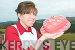 Have your cake and eat it: Natalie Thornton from Athea who has her own business making quirky cakes.
