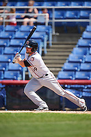 Richmond Flying Squirrels pinch hitter Steven Lerud (19) at bat during a game against the Binghamton Mets on June 26, 2016 at NYSEG Stadium in Binghamton, New York.  Binghamton defeated Richmond 7-2.  (Mike Janes/Four Seam Images)