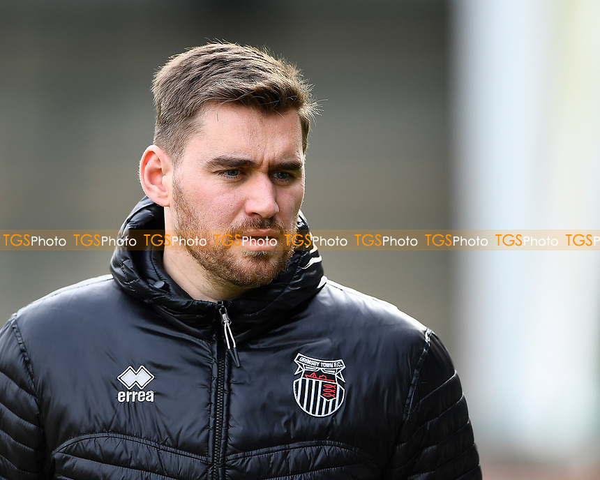 Grimsby Town Manager Michael Jolley during Yeovil Town vs Grimsby Town, Sky Bet EFL League 2 Football at Huish Park on 9th February 2019