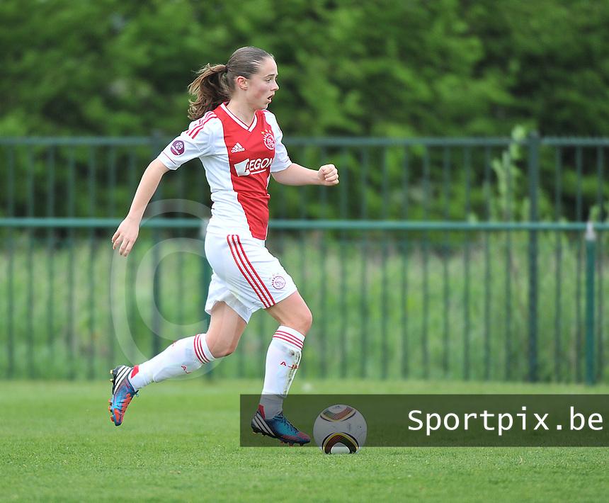 RSC Anderlecht Dames - Ajax Amsterdam : Lauren Delleman.foto DAVID CATRY / Nikonpro.be
