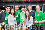 Donal Murphy, Richard Prendergast, Stephen O'Donoghue, aaron O'Carroll, Colm O'Shea, micheal O'Sullivan, and gerry collins at the Ireland/France game at Scotts Hotel on Sunday