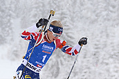 9th December 2017, Biathlon Centre, Hochfilzen, Austria; IBU Biathlon World Cup; Johannes Thingens Boe (NOR) during the mens 12.5KM pursuit