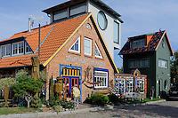 Töpferei in Middellhagen auf Rügen, Mecklenburg-Vorpommern, Deutschland