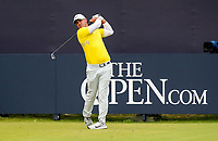 210719 | The 148th Open - Final Round<br /> <br /> Brooks Koepka of USA on the 1st during the final round of the 148th Open Championship at Royal Portrush Golf Club, County Antrim, Northern Ireland. Photo by John Dickson - DICKSONDIGITAL