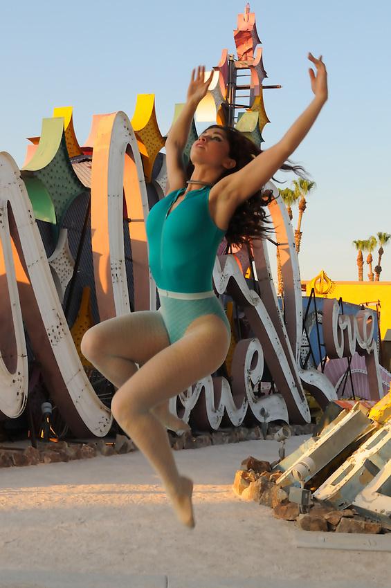 Gregory Holmgren Photography, Neon Museum, Las Vegas, Nevada, July 17, 2013