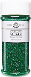 10203 Emerald City Green Sparkling Sugar, Tall Jar 7.5 oz
