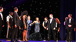 Curtain call - cast and As The World Turns' Judson Mills and Deborah Cox star in the North American Premiere at the opening night of The Bodyguard The Musical at the Paper Mill Playhouse December 4 running until January 1, 2107.  (Photo by Sue Coflin/Max Photos)