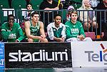 S&ouml;dert&auml;lje 2015-02-03 Basket Basketligan S&ouml;dert&auml;lje Kings - Norrk&ouml;ping Dolphins :  <br /> S&ouml;dert&auml;lje Kings skadade spelare John Roberson ser matchen fr&aring;n sidan under matchen mellan S&ouml;dert&auml;lje Kings och Norrk&ouml;ping Dolphins  <br /> (Foto: Kenta J&ouml;nsson) Nyckelord:  S&ouml;dert&auml;lje Kings SBBK T&auml;ljehallen Norrk&ouml;ping Dolphins skada skadan ont sm&auml;rta injury pain
