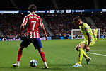 Atletico de Madrid's Joao Felix during La Liga match between Atletico de Madrid and Getafe CF at Wanda Metropolitano Stadium in Madrid, Spain. August 18, 2019. (ALTERPHOTOS/A. Perez Meca)