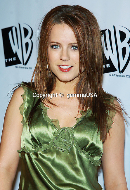 Allison Munn arriving at the WB - tca Winter Party on the Warner Lot,  in Los Angeles. January 22, 2005.