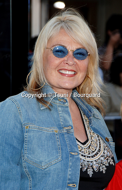 Roseanne arriving at the SUPERMAN RETURNS Premiere at the Westwood Village Theatre in Los Angeles. June 21, 2006.
