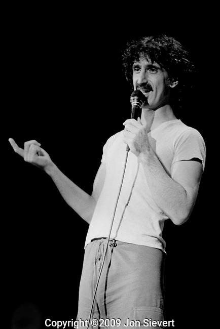 Frank Zappa, December 1981